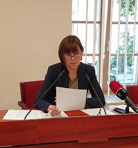Teisėjų garbės teismas M.Striaukui paskelbė griežtą papeikimą