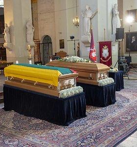 Aiškėja, kada bus sutvarkyti M.Biržiškos ir jo žmonos bei brolių kapai