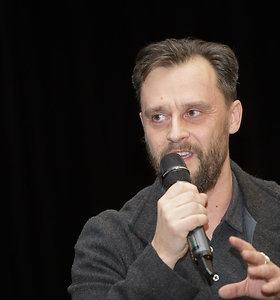 "Susitikimas su romano ""Jelgava 94"" autoriumi Jāniu Jonevu"
