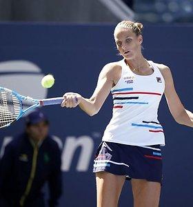 """""""US Open"""": K.Pliškova prieš T.Martincovą"""