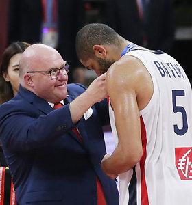 Prancūzija iškovojo pasaulio vyrų krepšinio čempionato bronzą