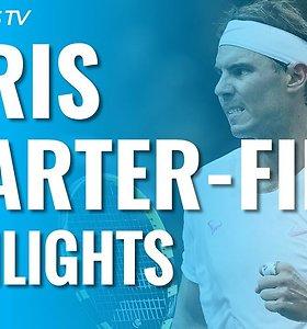"""ATP """"Masters"""" turnyro Paryžiuje ketvirtfinalių apžvalga"""