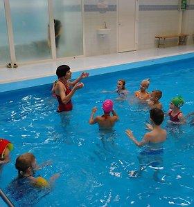Suvalkiečiai vis dažniau traukia į baseinus