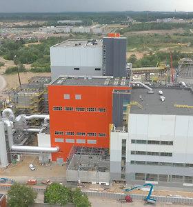 Vilniaus kogeneracinė jėgainė šilumą pradės gaminti lapkritį