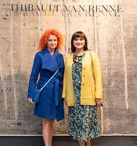 Haute couture kilimų kolekcijos pristatymo akimirkos