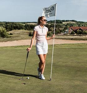 Rūta Elžbieta Mazurevičiūtė-Pitkauskienė golfo aikštyne