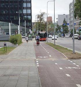 Naujas dviračių takas sostinėje sujungė Žirmūnus ir Šnipiškes