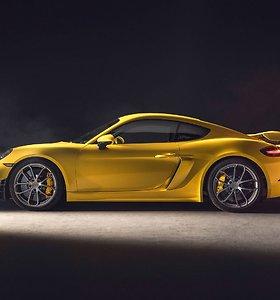 """Pristatyti naujieji """"Porsche 718"""""""