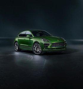 """Naujasis """"Porsche Macan Turbo"""": su mažesniu, bet galingesniu varikliu"""