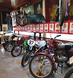 JAWA motociklų muziejus Čekijoje