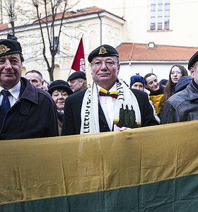 Signatarų namuose Lietuvos Nepriklausomybės Akto tradicinis minėjimas