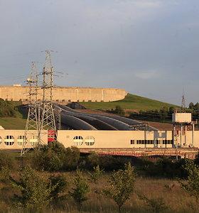 Kruonio HAE baseine pradėta saulės jėgainės statyba