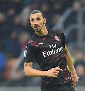 """Į Milaną grįžęs Zlatanas pergalės neatnešė, C.Ronaldo metus pradėjo """"hat-tricku"""""""