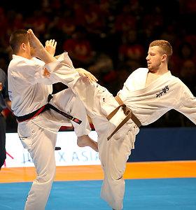 Lietuvos karatė meistrams – trys Europos čempionų titulai