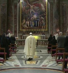 Popiežius Pranciškus išskirtinėmis Mišiomis paminėjo šimtąsias Jono Pauliaus II-ojo gimimo metines