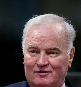 Ratko Mladičius pripažintas kaltu dėl genocido per Bosnijos karą
