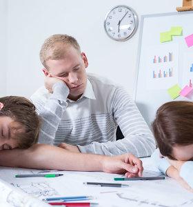 10 neakivaizdžių priežasčių, dėl kurių nuolat norisi miego