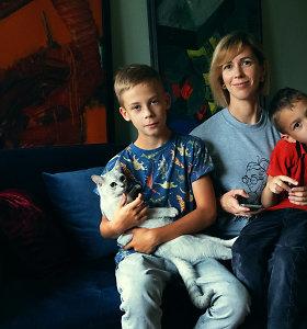 """Vaikų autizmą ir disleksiją iš arti pažįstanti Eglė: """"Kelerius metus gyvenau tikrame pragare, tačiau šiandien esu laiminga"""""""