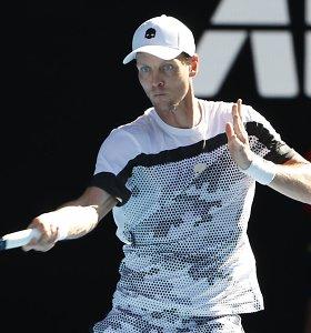 ATP Monpeljė: T.Berdychas išlaikė sunkų išbandymą