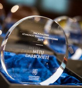 Valdovų rūmuose apdovanotos atsakingiausios Lietuvos įmonės