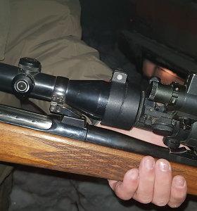 Šilutės rajono pensininkas įtariamas šaudęs į tris vaikus