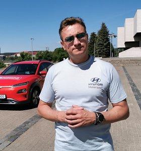 Žurnalisto eksperimentas: ar įmanoma mieste elektromobiliu nuvažiuoti 600 km?