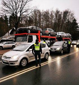 Kaune – intensyvūs reidai: patikrinta šimtai vairuotojų, 5 buvo išgėrę