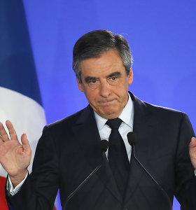 Prancūzijos rinkimai: ambasadoje Vilniuje daugiausia balsų gavo F.Fillonas