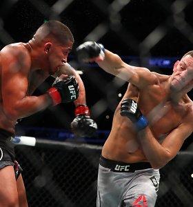 UFC narve – ilgai lauktas Nate'o Diazo sugrįžimas