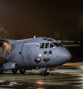 Prezidentė į Latviją neišskrido dėl lėktuvo aukščio valdymo sistemos gedimo