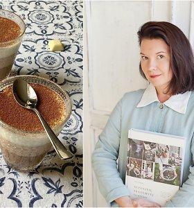 """Renatos Ničajienės """"Sezoninė virtuvė"""": trijų šokoladų desertas su kokosų pienu"""