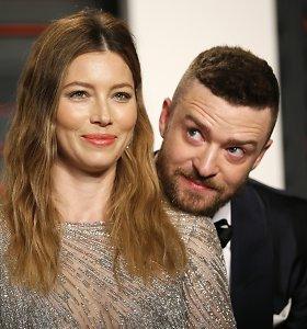 """Justinas Timberlake'as atsiprašė žmonos dėl nederamo elgesio su kolege: """"Turėjau elgtis atsakingiau"""""""