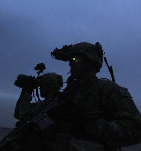 Naujas kariškų akinių projektas: su naktiniu matymu, virtualia ir papildyta realybe