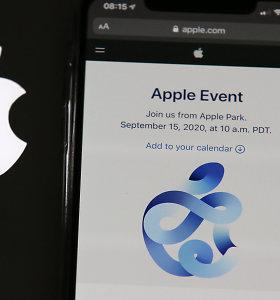 """""""Apple"""" naujausi produktai: pirmuoju smuiku groja nebe telefonai"""
