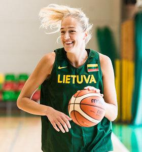 Lietuvos moterų krepšinio rinktinė susirinko netikėtai stovyklai Kaune