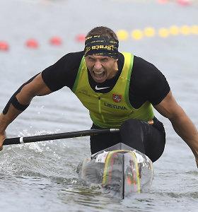 Auksas Vengrijoje – Henrikas Žustautas tapo pasaulio čempionu!