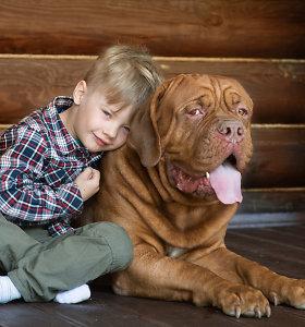 Itin sterili aplinka vaikui netinka. Kaip vaiko sveikatai padėtų šuo ir mikrobai?