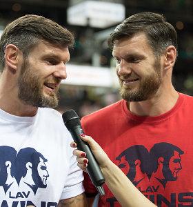 Broliai Lavrinovičiai kartu surinko 10 taškų – lietuvių klubas išlieka nepralaimėjęs