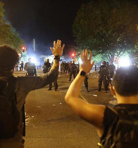 Protestai prie Baltųjų rūmų