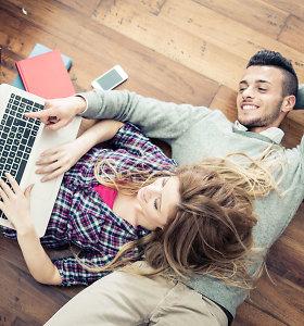Gerti nebemadinga: tam įtakos turi ir dažnesnis bendravimas internetu, o ne gyvai