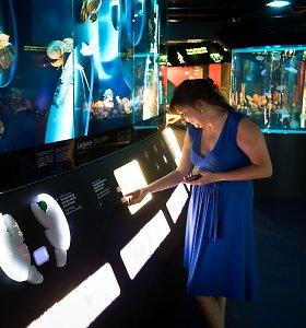 Jūrų muziejaus ekspozicijai apie vėžiagyvius – apdovanojimas