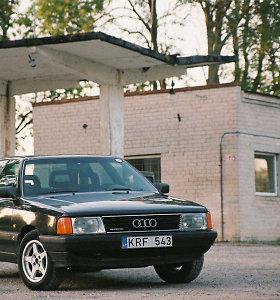"""Audi 100"", dar vadinama ""silke"""