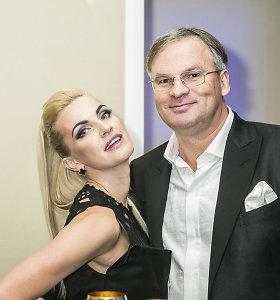 """Byra """"Helios Group"""" prezidento Valerijaus Stankevičiaus ir modelio Jurgos Šapokaitės santuoka"""