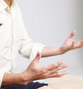 Ekspertė: kalbėjimo procese dalyvauja visas mūsų kūnas