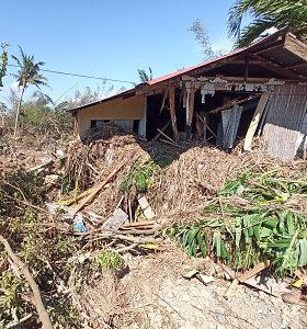 Filipinuose taifūno Phanfone aukų padaugėjo iki 41