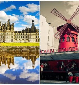 Neatrasti Prancūzijos lobiai: ištaigingos pilys ir atmintyje įsirėšiantys šou