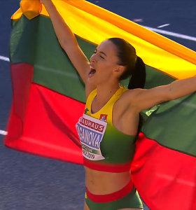 Dianos Zagainovos triumfas Švedijoje – tapo Europos iki 23 metų čempione