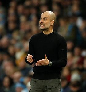 """J.Guardiola prabilo apie savo ateitį """"Manchester City"""" klube"""