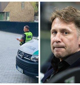 Egidijų Dragūną policijai teko vytis iki namų: kilo konfliktas