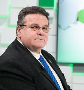 """L.Linkevičius: """"Linkiu neprivatizuoti Baltarusijos klausimo per rinkimų kampaniją"""""""